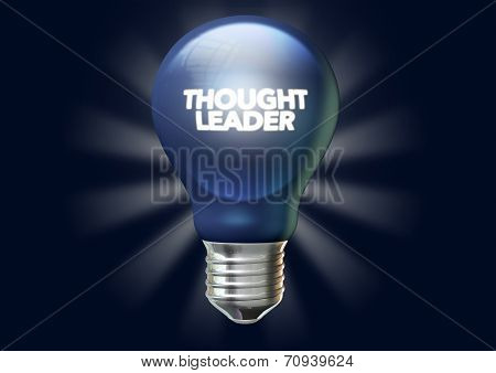 Thought leader light bulb