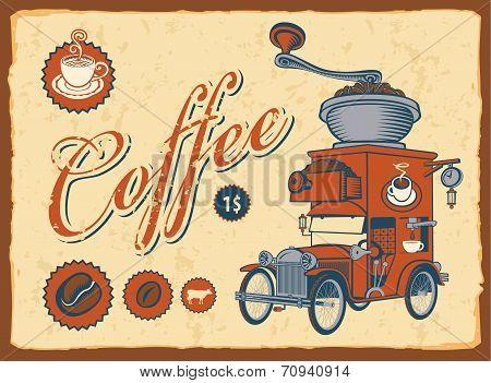 Auto coffee grinder