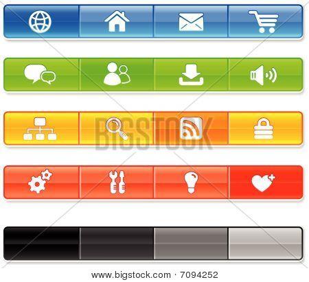 Bar Internet Icons