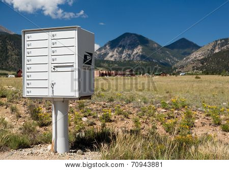 Usps Metal Mailboxes For Rural Homes Colorado
