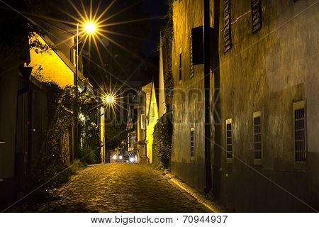 An Old Street In The Night