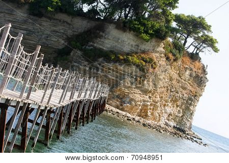Bridge To Agios Sostis Island
