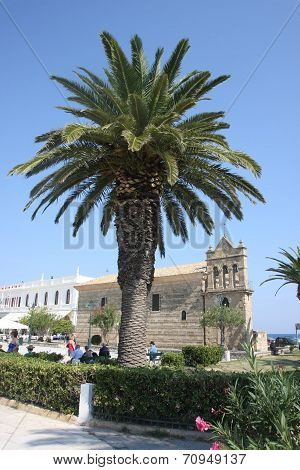 Church Saint Nicholas Of Mole On Solomos Square