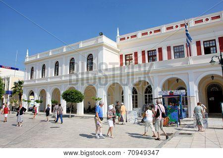 Solomos Square In Zante Town