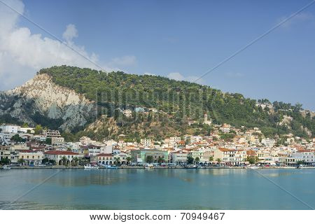 View Of Zante Town In Greece