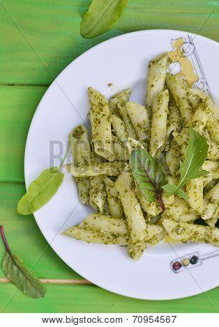 Pasta With Pesto Sause