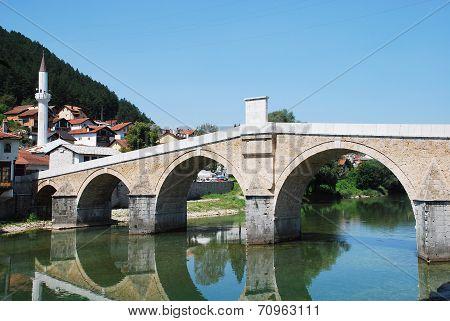 Old Stone Bridge In Konjic