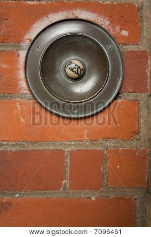 Large Press Button Doorbell