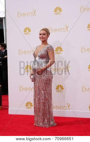 LOS ANGELES - AUG 25:  Hayden Panettiere at the 2014 Primetime Emmy Awards - Arrivals at Nokia at LA Live on August 25, 2014 in Los Angeles, CA