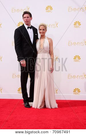vLOS ANGELES - AUG 25:  Joanne Froggatt at the 2014 Primetime Emmy Awards - Arrivals at Nokia at LA Live on August 25, 2014 in Los Angeles, CA