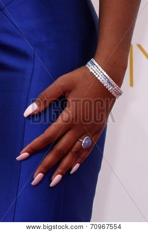 LOS ANGELES - AUG 25:  Keke Palmer at the 2014 Primetime Emmy Awards - Arrivals at Nokia at LA Live on August 25, 2014 in Los Angeles, CA