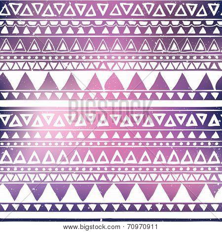 Aztec Tribal Seamless Pattern