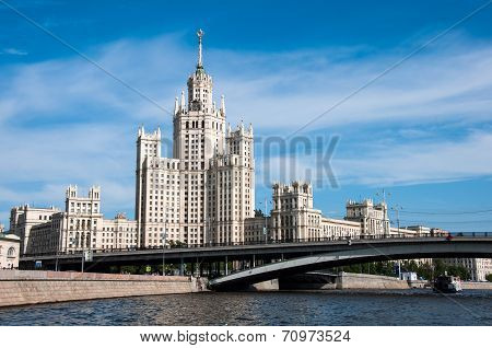 Stalin's House In Moscow, Russia, Landmark