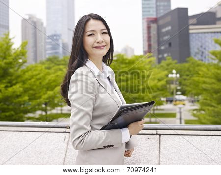 Asian Office Lady