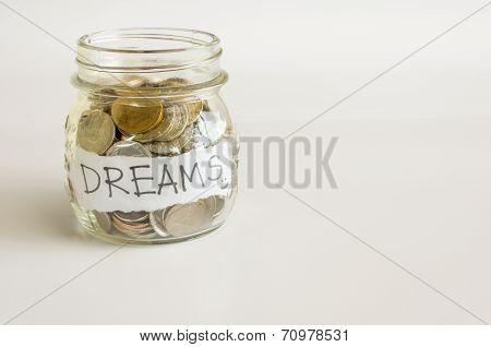 Saving make dream comes true.