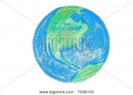 Crayon Earth