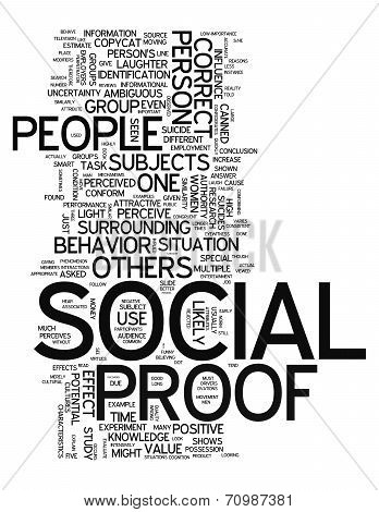 Word Cloud Social Proof