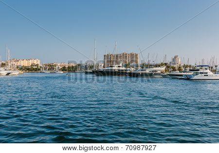 Tomas Maestre Harbor, La Manga, Murcia