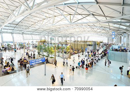 The Incheon International Airport Is The Largest Airport In South Korea