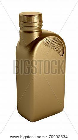 Motor oil bottle
