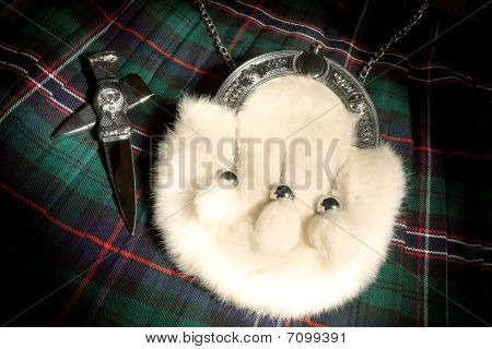 Fur Sporran And Kilt