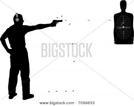 shooting in target