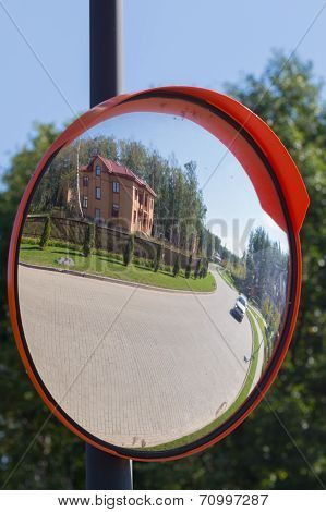 Reflected In A Distorting Mirror