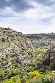 picture of jabal  - Image of landscape Wadi Bani Habib in Oman - JPG