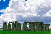 image of stonehenge  - ancient Historical landmark monument Stonehenge England UK  - JPG