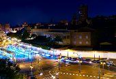 picture of tomas  - otra toma de las calles de Valencia de noche  - JPG