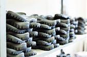 foto of soles  - Image of rubber soles for footwear manufacturing - JPG