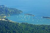 image of malaysia  - Landscape of Langkawi island and Andaman seacoast - JPG