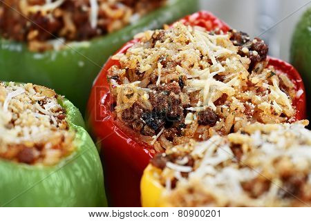 Baked Stuffed Peppers