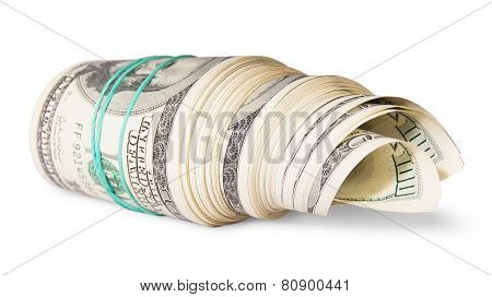 Roll Of Money On The Side