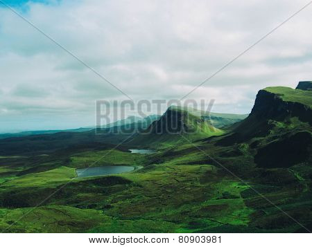 Rolling Green Hills Of The Isle Of Skye
