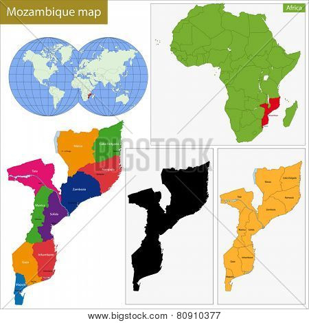 Administrative division of the Republic of Mozambique