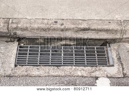 Sewer Grate  Water And Rain Drain