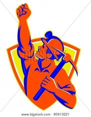 Coal-miner-pump-fist-pick-ax