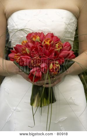 Bridal Bouquet Tulips