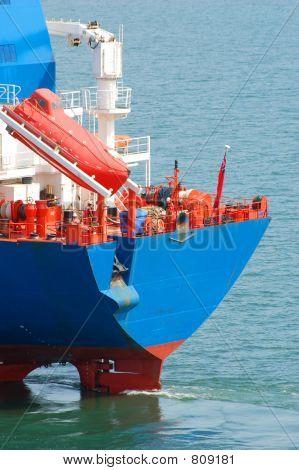 Rear of a Tanker