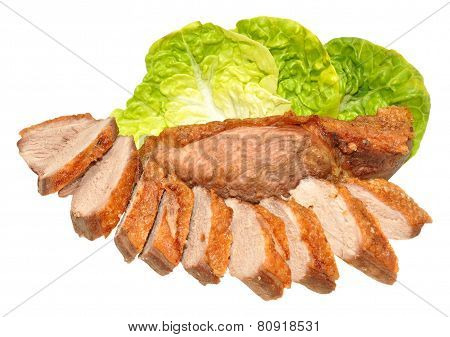 Cooked Duck Breast Meat