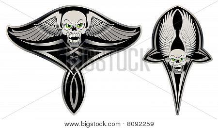 Tribal skull set