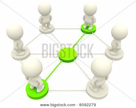 People Networking
