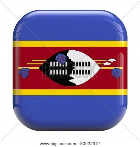 Swaziland Flag Icon Image