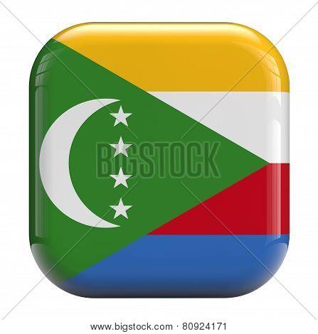 Comoros Flag Icon Image