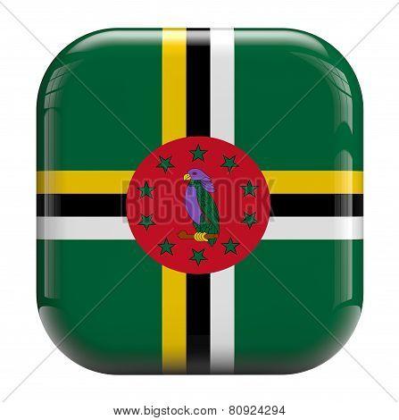 Dominica Flag Icon Image