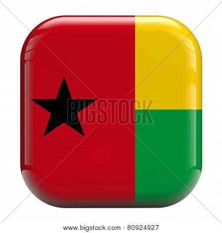 Guinea Bissau Flag Icon Image