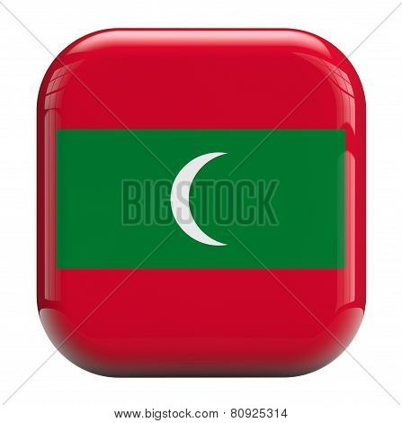 Maldives Flag Icon Image