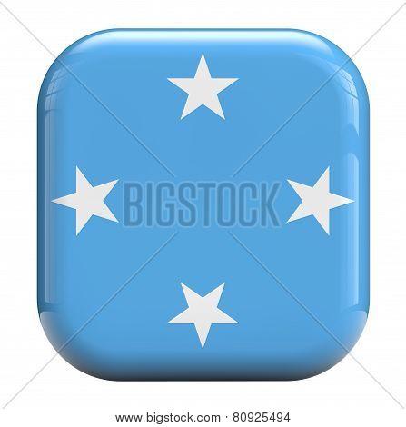 Micronesia Flag Icon Image