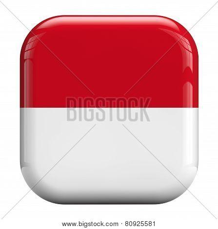 Monaco Flag Icon Image